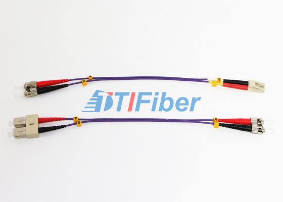 Cavo di toppa a fibra ottica della st UPC OM2 62,5 con il saltatore di fibra ottica del cavo ottico di ROHS