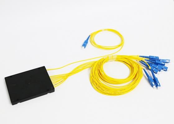 Separatore a fibra ottica del Plc 1*8 con il connettore della fibra della st LC dello Sc di MP FC