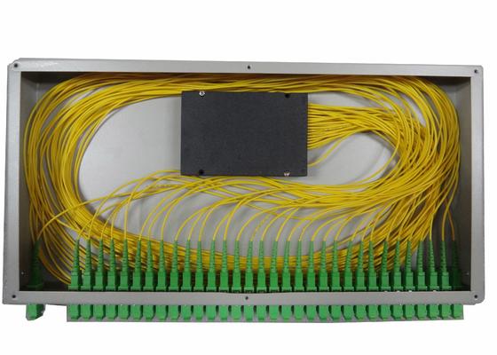 separatore di fibra ottica dello SpA 1x16 per la scatola terminale montata scaffale della fibra