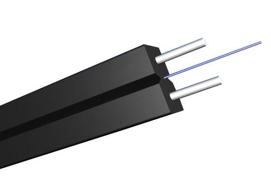 Cavo flessibile piano monomodale dell'interno di GJYXCH FTTH con fibra ottica G657A2