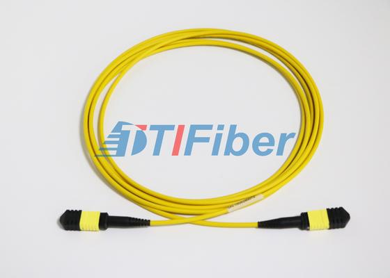 Cavi di toppa a fibra ottica monomodali APC/di UPC MTP con il rivestimento di LSZH