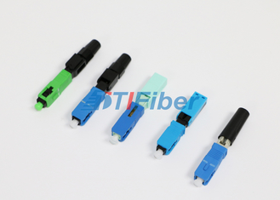 Connettore a fibra ottica della st LC di FC per le reti di FTTH con alta perdita di inserzione