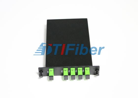 Contenitore a fibra ottica di separatore dello SpA di LGX con gli adattatori a fibra ottica semplici dello Sc APC