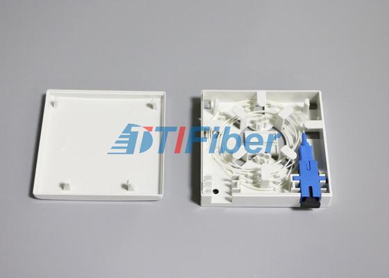 Pannello a fibra ottica dell'incavo del porto del contenitore di giuntura dell'adattatore della fibra LC/dello Sc 2